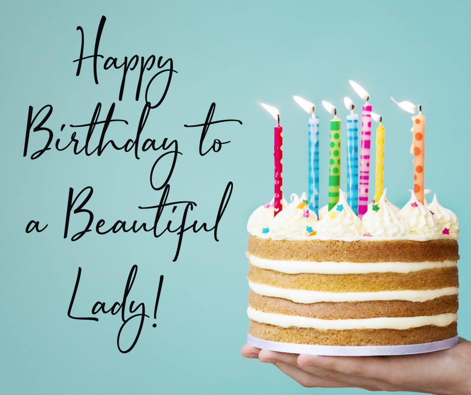 HAPPY BIRTHDAY TO A BEAUTIFUL LADY! - More Than My Ostomy (940 x 788 Pixel)